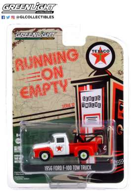 Ford  - F-100 1956 red/white - 1:64 - GreenLight - 41120B - gl41120B | The Diecast Company