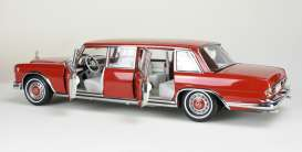 Mercedes Benz  - 600 Pullmann 1960 red - 1:18 - CMC - 216 - cmc216 | The Diecast Company