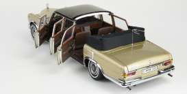 Mercedes Benz  - 600 Pullmann 1960 beige/brown - 1:18 - CMC - 217 - cmc217 | The Diecast Company