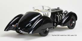 Mercedes Benz  - SSK 1934 black - 1:18 - CMC - 225 - cmc225 | The Diecast Company