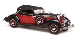 Horch  - 853 red/black - 1:12 - CMC - C-010 - cmcC010 | The Diecast Company