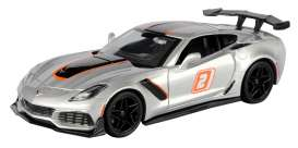 Corvette  - ZR1 2019 grey - 1:24 - Motor Max - 73785 - mmax73785 | The Diecast Company