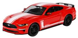 Ford  - Mustang GT 2018 red - 1:24 - Motor Max - 73787 - mmax73787 | The Diecast Company