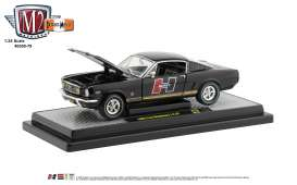 Ford Mustang - 1966 black - 1:24 - M2 Machines - 40300-79A - M2-40300-79A | The Diecast Company