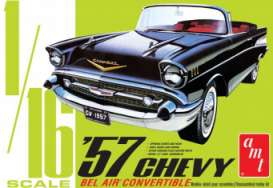 Chevrolet  - Bel Air Convertible 1957  - 1:16 - AMT - s1159 - amts1159 | The Diecast Company