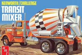 Kenworth  - Challenge Transit cement mixer  - 1:25 - AMT - s1215 - amts1215 | The Diecast Company