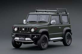 Suzuki  - Jimny jungle green - 1:18 - Ignition - IG1704 - IG1704 | The Diecast Company