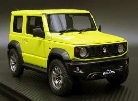 Suzuki  - Jimny yellow - 1:18 - Ignition - IG1707 - IG1707 | The Diecast Company