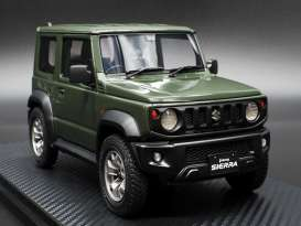 Suzuki  - Jimny green - 1:18 - Ignition - IG1708 - IG1708 | The Diecast Company