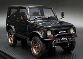 Suzuki  - Jimny black - 1:18 - Ignition - IG1717 - IG1717 | The Diecast Company