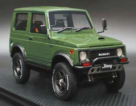 Suzuki  - Jimny green - 1:18 - Ignition - IG1718 - IG1718 | The Diecast Company