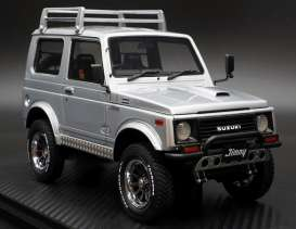 Suzuki  - Jimny silver - 1:18 - Ignition - IG1719 - IG1719 | The Diecast Company