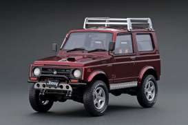 Suzuki  - Jimny red - 1:18 - Ignition - IG1723 - IG1723 | The Diecast Company