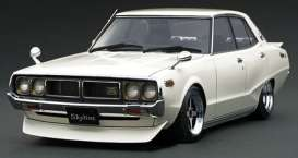 Nissan  - Skyline 2000 white - 1:18 - Ignition - IG1984 - IG1984 | The Diecast Company
