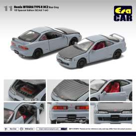 Honda  - Integra Type R DC2 blue-grey/black - 1:64 - Era - HA20DC2RF11 - Era20DC2RF11 | The Diecast Company