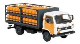 Pegaso  - Ekus 1988 orange/black/white - 1:43 - Magazine Models - magPub001 | The Diecast Company