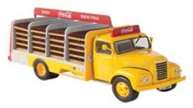 Ebro  - B-45 1962 yellow/red - 1:43 - Magazine Models - magPub003 | The Diecast Company
