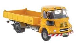 Sava  - BMC S-66 1962 yellow - 1:43 - Magazine Models - magPub004 | The Diecast Company