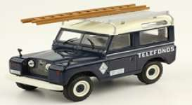 Land Rover  - Santana 88 1989 blue/white - 1:43 - Magazine Models - magPub006 | The Diecast Company