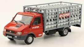 Pegaso  - Daily 1994 red/grey - 1:43 - Magazine Models - magPub008 | The Diecast Company