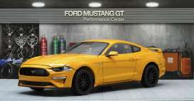 Ford  - Mustang GT 5.0 coupe 2019 orange - 1:18 - Diecast Masters - 61002 - DM61002 | The Diecast Company