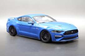 Ford  - Mustang GT 5.0 coupe 2019 kona blue - 1:18 - Diecast Masters - 61004 - DM61004 | The Diecast Company
