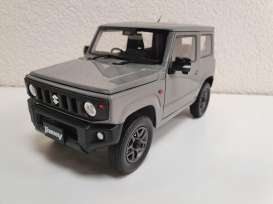 Suzuki  - Jimny JB64 2018 medium grey - 1:18 - BM Creations - 18B0016 - BM18B0016 | The Diecast Company