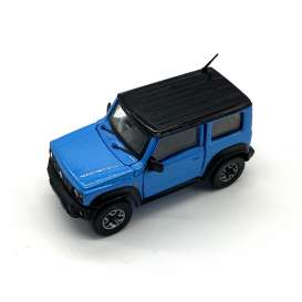 Suzuki  - Jimny JB74 2018 blue/black - 1:64 - BM Creations - 64B0013 - BM64B0013 | The Diecast Company