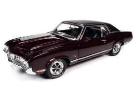 Oldsmobile  - 1970 burgundy - 1:18 - Auto World - AMM1245 - AMM1245 | The Diecast Company