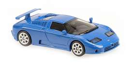 Bugatti  - EB 110 1994 blue - 1:43 - Minichamps - 940102110 - mc940102110 | The Diecast Company