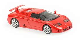 Bugatti  - EB 110 1994 red - 1:43 - Minichamps - 940102111 - mc940102111 | The Diecast Company