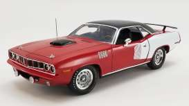 Plymouth  - Hemi Cuda 1971 red/white/black - 1:18 - Acme Diecast - 1806121 - acme1806121 | The Diecast Company
