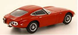 Toyota  - 2000GT white - 1:64 - Kyosho - 6502R - kyo6502R | The Diecast Company