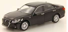 Toyota  - Crown black - 1:64 - Kyosho - 7042CRBK - kyo7042CRBK | The Diecast Company