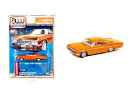 Chevrolet  - Impala SS convertible 1962 orange - 1:64 - Auto World - CP7659 - AWCP7659 | The Diecast Company
