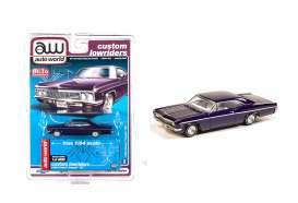 Chevrolet  - Impala SS convertible 1962 blue - 1:64 - Auto World - CP7658 - AWCP7658 | The Diecast Company