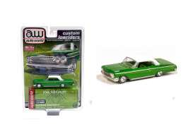 Chevrolet  - Impala SS hardtop 1962 green/white - 1:64 - Auto World - CP7657 - AWCP7657 | The Diecast Company