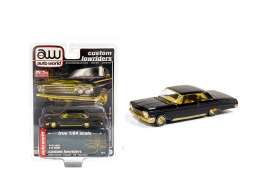 Chevrolet  - Impala SS hardtop 1962 black/gold - 1:64 - Auto World - CP7656 - AWCP7656 | The Diecast Company