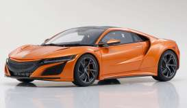 Honda  - NSX 2019 orange - 1:18 - Kyosho - KSR18023P - kyoKSR18023Po | The Diecast Company