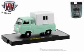 Ford  - Econoline 1965 mint green - 1:64 - M2 Machines - 31500HS16 - M2-31500HS16 | The Diecast Company