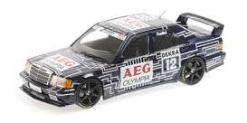 Mercedes Benz  - 1989 black/white - 1:18 - Minichamps - 155893612 - mc155893612 | The Diecast Company