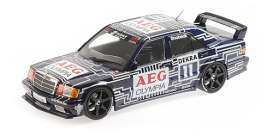 Mercedes Benz  - 1989 black/white - 1:18 - Minichamps - 155893611 - mc155893611 | The Diecast Company