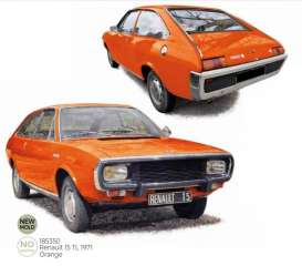 Renault  - 15 TL 1971 orange - 1:18 - Norev - 185350 - nor185350 | The Diecast Company