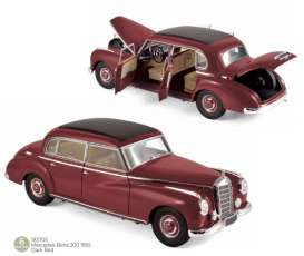 Mercedes Benz  - 300 1955 dark red - 1:18 - Norev - 183705 - nor183705 | The Diecast Company
