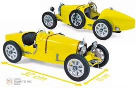 Bugatti  - T35 1925 yellow - 1:12 - Norev - 125702 - nor125702 | The Diecast Company