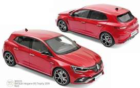 Renault  - Megane RS 2019 red - 1:18 - Norev - 185223 - nor185223 | The Diecast Company
