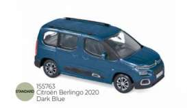 Citroen  - Berlingo 2020 dark blue - 1:43 - Norev - 155763 - nor155763 | The Diecast Company
