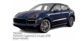 Porsche  - Cayenne 2019 blue - 1:43 - Norev - 750060 - nor750060 | The Diecast Company