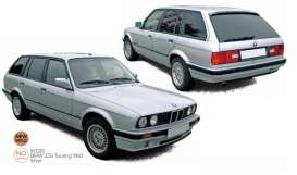 BMW  - 325i Touring 1992 silver - 1:18 - Norev - 183216 - nor183216 | The Diecast Company