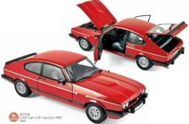 Ford  - Capri 1983 red - 1:18 - Norev - 182708 - nor182708 | The Diecast Company